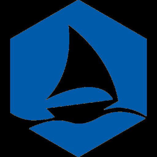 Graphene Flagship blue hexagon logo