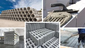 Concrete and mortar applications
